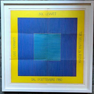 Sol LeWitt, 'Sol Lewitt (Hand Signed)', 1980