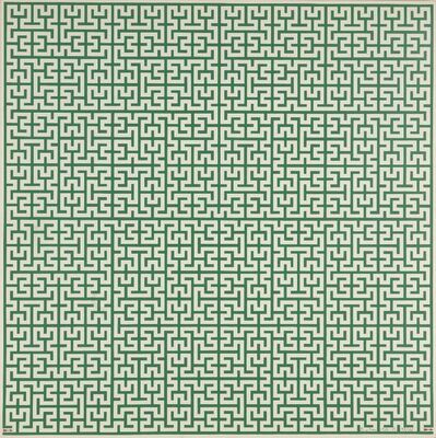 Enzo Mari, 'Untitled (Green Maze)', 1967-85