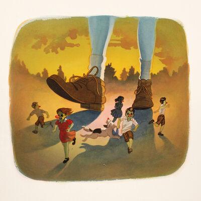 Victor Castillo, 'Corre Que Te Pillo', 2016