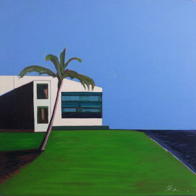 Melissa Chandon, 'Post Modern House with Indigo Ocean', 2012