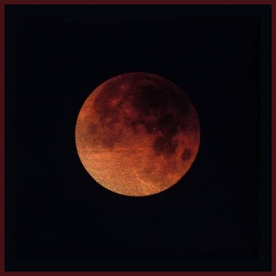 Kate Breakey, 'Lunar Eclipse Jan. 2018, Tuscon AZ, (Blood Moon)'