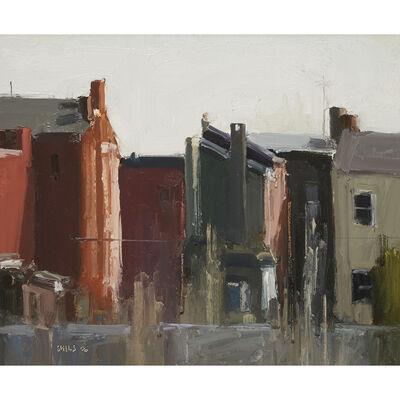 Stuart Shils, 'Kensington Rowhouses, Morning Light'