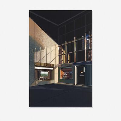 Richard Estes, '4 1/2 % Interest (Urban Landscapes No. 2)', 1979