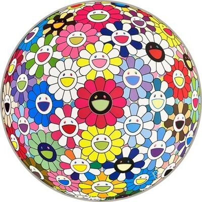 Takashi Murakami, 'Flowerball: Hold Me Tight', 2017