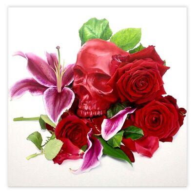Arth Daniels, 'Red Skull', 2015