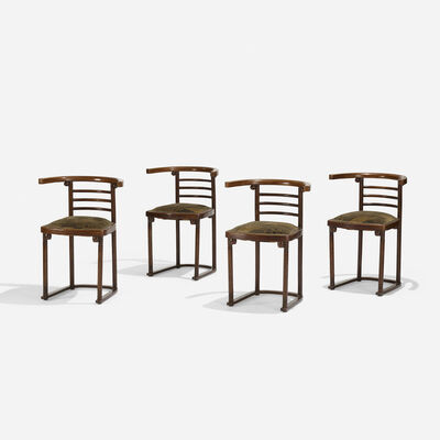 J. & J. Kohn, 'Chairs Model No. 728, Set of Four', c. 1905