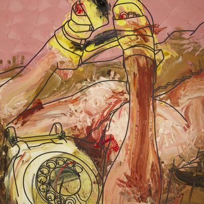 Marcus Harvey, 'Dog 'n Bone', 1998