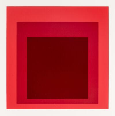 Josef Albers, 'I-S JP', 1972
