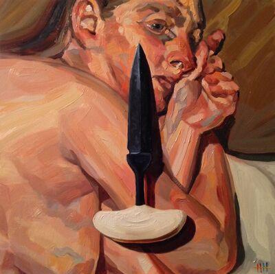 Heather Horton, 'Freud with push dagger', 2015