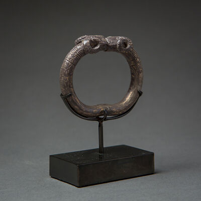 Unknown Bactrian, 'Bactria-Margiana Silver Bracelet with Ram Heads', 2000 BC to 1000 BC