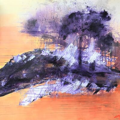 Tiny de Bruin, 'Burning sand', 2014
