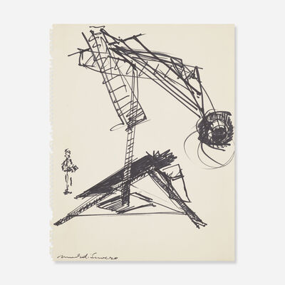 Mark di Suvero, 'Untitled', c. 1981