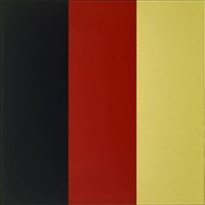 Gerhard Richter, 'Schwarz, Rot, Gold IV (Butin 166)', 2015