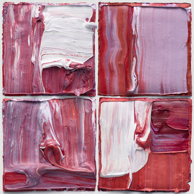 Judy D. Shane, 'Multiform X4 Red Purple 01', 2020