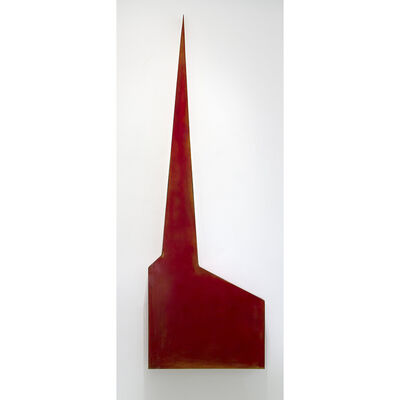 Robert Therrien, 'Untitled (Red Chapel)', 1984