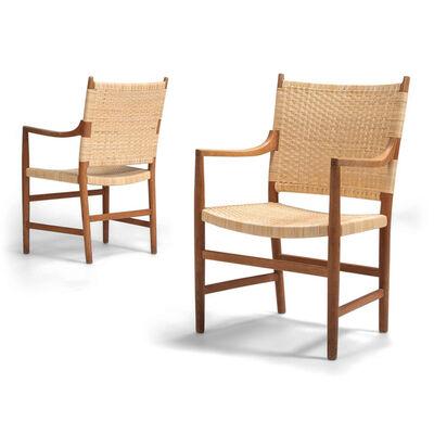 Hans Jørgensen Wegner, 'A set of 10 armchairs', ca. 1947