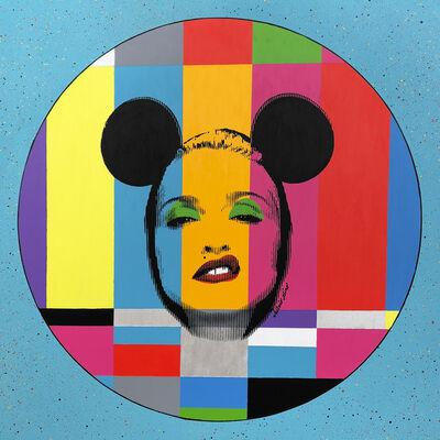 Silvio Alino, 'Pop Icon Test Card Series Blue', 2018