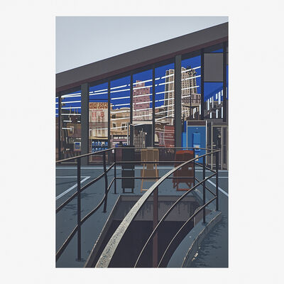 Richard Estes, 'Meat Department from the Urban Landscapes No. 2 series', 1979