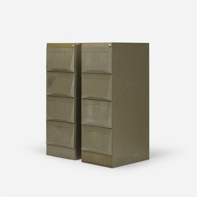 Olivetti, 'Synthesis file cabinets model C3, pair', c. 1965