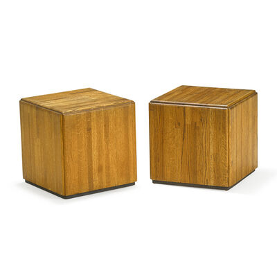 Lou Hodges, 'Pair of side tables, USA'