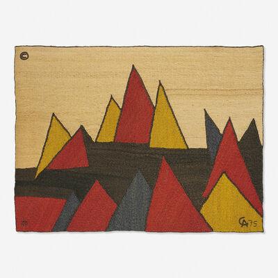 After Alexander Calder, 'Pyramids tapestry', 1975
