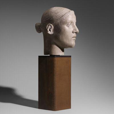 Diana Moore, 'Small Grey Head', 1989