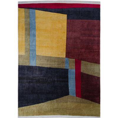 Marcel Zelmanovitch, 'Hyacinthinus model - unique piece, Perroquet Collection, Carpet', 1985