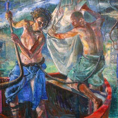 Tom Hopkins, 'Rampant Sea', 1999