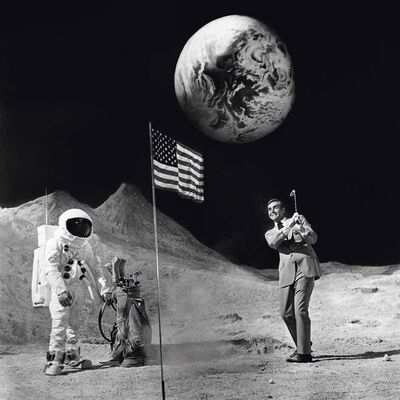 Terry O'Neill, 'Sean Connery' (Golfing on the Moon)', 1971