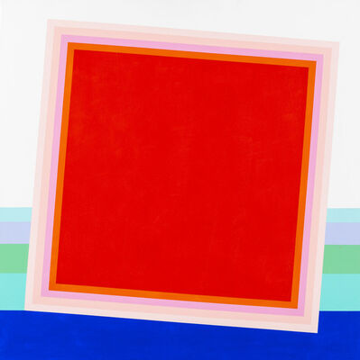 Eugenio Carmi, 'Fra equilibrio e instabilità', 2002