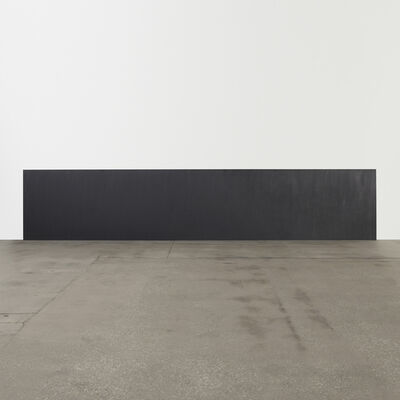 Richard Serra, 'Horizontal Rectangle to the Floor', 1981