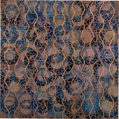 Philip Taaffe, 'Zone of the Straits', 1991
