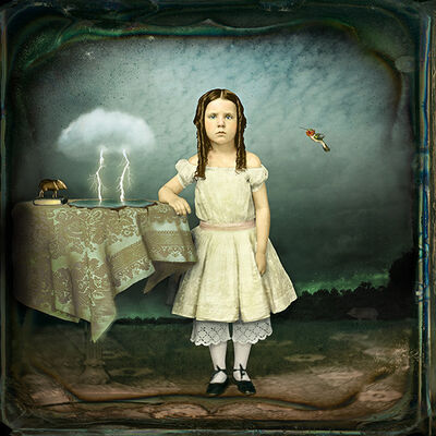 Maggie Taylor, 'Lightning Strikes Twice', 2010