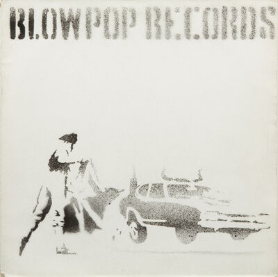 Banksy, 'Blowpop Records', ca. 1999