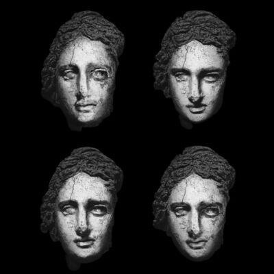 Giorgia Fiorio, 'Clay Head of Statue Ca. 870, Paradeigma C4-1, Original  Edition scale 1:1 ', 2015-2016