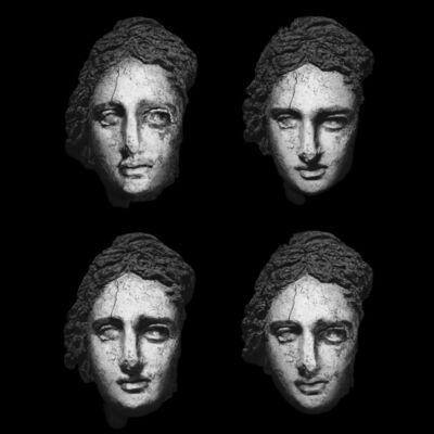 Giorgia Fiorio, 'Clay Head of Statue Ca. 870, Paradeigma C4-1, Original  Edition scale 1:1 ', 2015-2016
