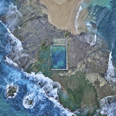 David Burdeny, 'Rock Pool, Australia', 2016