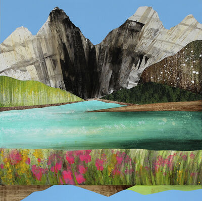 Sarah Winkler, 'Spring on the Gallatin River', 2021