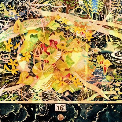 Hilary Irons, 'Marsh Marigolds', 2020