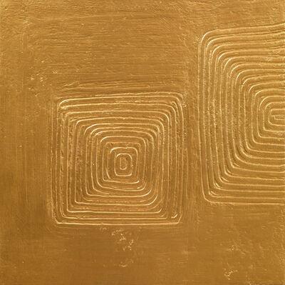 Hans Bischoffshausen, 'stratification de l'espace', 1967-realised after 1987