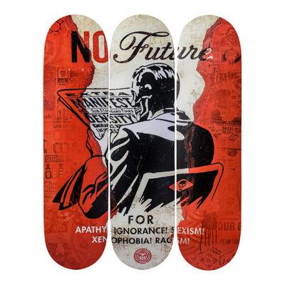 Shepard Fairey, 'No Future', 2017
