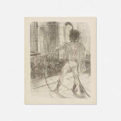 Henri de Toulouse-Lautrec, 'Schlome Fuss in the Synagogue, from Au Pied du Sinai', 1897