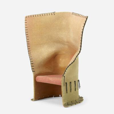 Gaetano Pesce, 'prototype Feltri chair', 1987