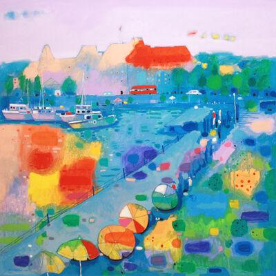 Hashim Hannoon, 'Colourful Seaside'