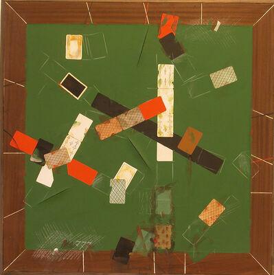 Vladimir Nemukhin, 'Green Card Table No.3', 1987