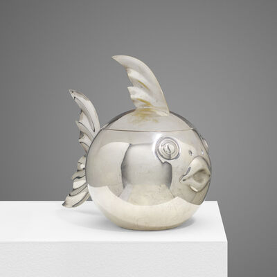 Teghini, 'Fish Ice Bucket', c. 1970