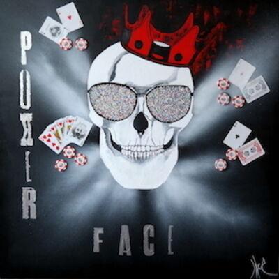 Julie Jaler, 'Poker Face', 2015