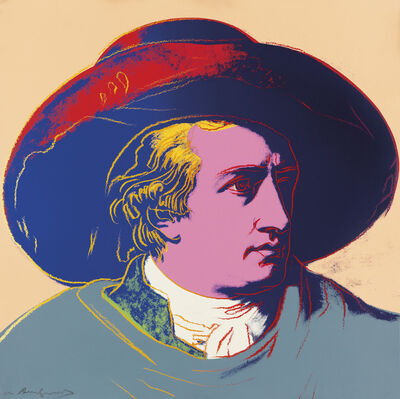 Andy Warhol, 'Goethe', 1982