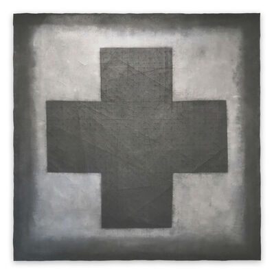 Pierre Muckensturm, 'Croix 20.10 P (Abstract painting)', 2020
