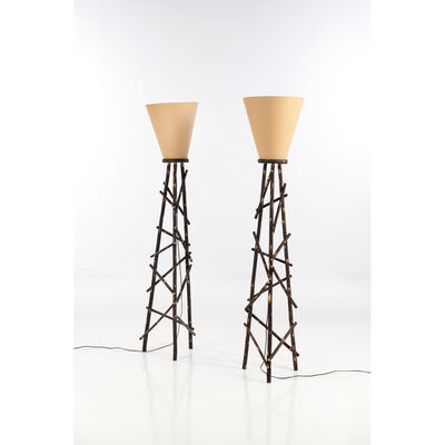Nestor Perkal, 'Pair of lamps', 1990